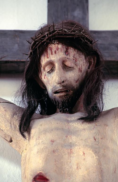 Crucifix in St. Michael Church in Grosskochberg.