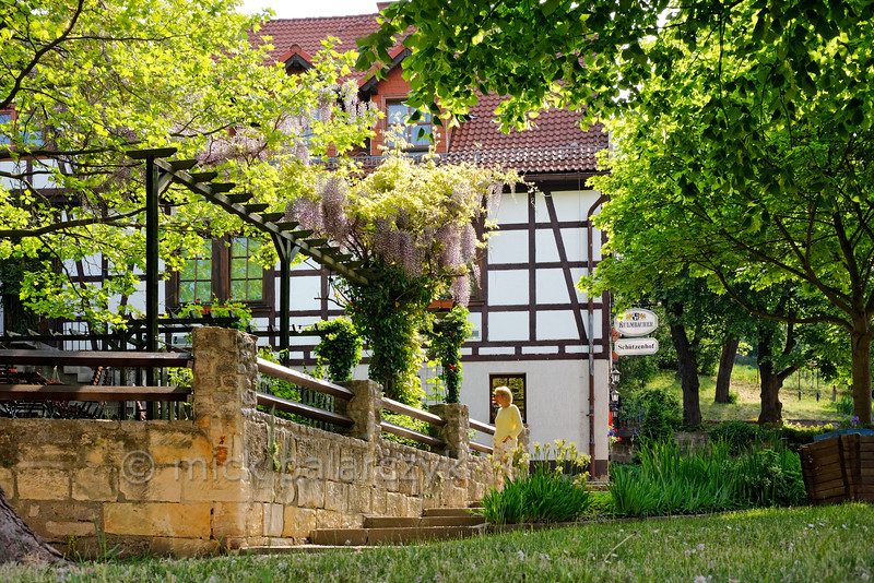 Old inn in Mühlberg