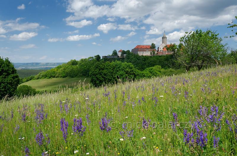 Leuchtenburg Castle at Seitenroda.