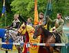 Medieval tournament in Thuringia.