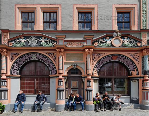 Cranachhaus in Weimar.