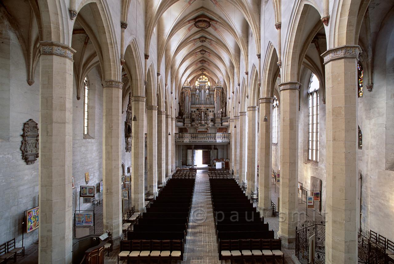 Predigerkirche in Erfurt.