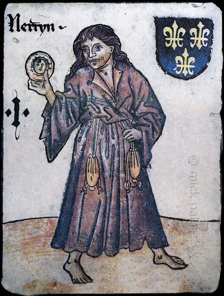 'Hofämterspiel '  in the Playing Card Museum of Altenburg.