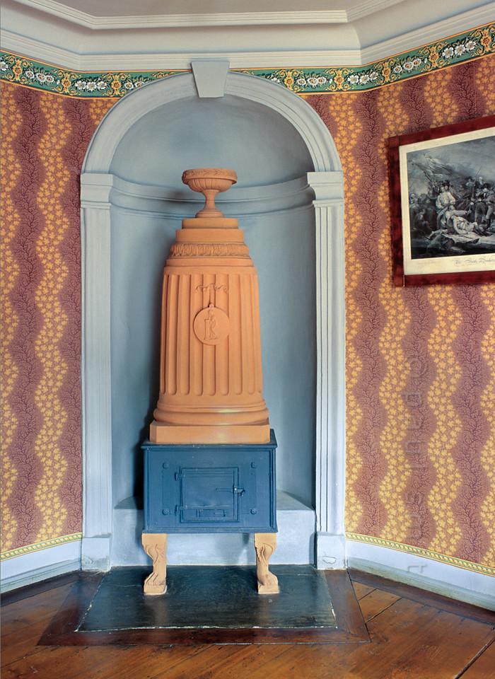 Drawing room in Schiller's House in Weimar.