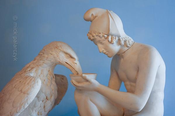 Ganymedes in the Stadtschloss Museum of Weimar.