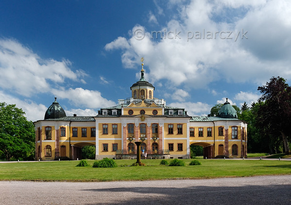 Belvedere Castle near Weimar.