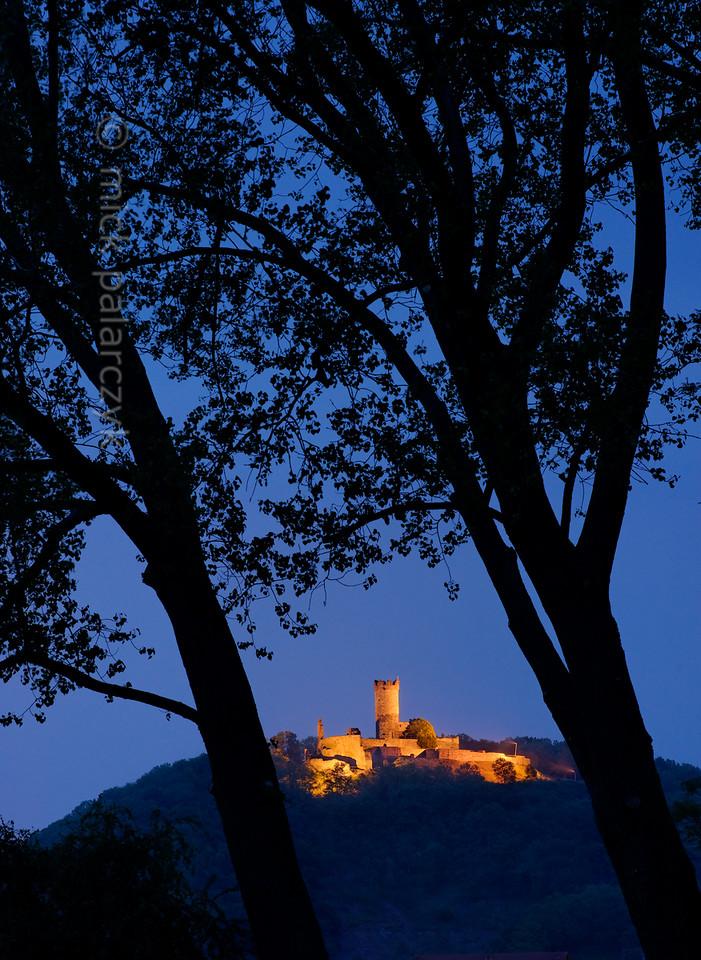 Mühlburg Castle in the village of Mühlberg.