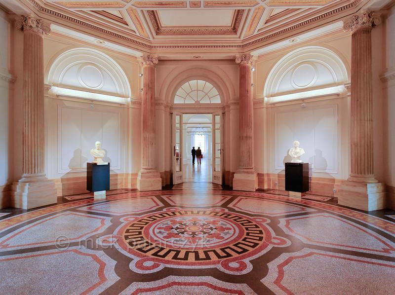 Hall in Herzogliches Museum in Gotha
