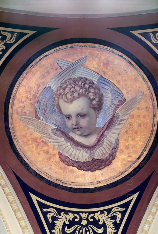 Angel in Goethe's and Schiller's tomb in Weimar.