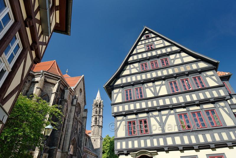 Liebfrauenkirche in Arnstadt.