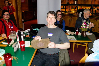 Robert won the second Frost River prize.