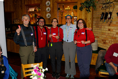 Here are most of the BWAC Duluth Chapter organizers.
