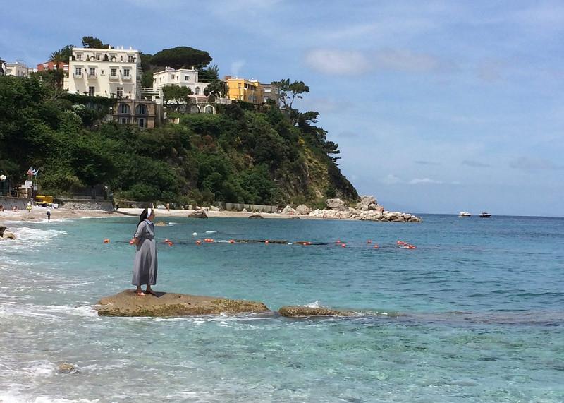 Prayer in Capri