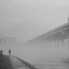 Foggy Morning in Korea