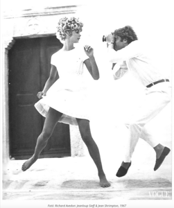 Jean Shrimpton & Jean-Loup Sieff