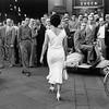 Mario Biasi: Moira Orfei, Milano 1954