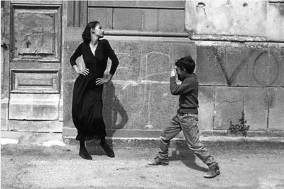 Ferdinando Scianna/ Marpessa, Bagheria, Sicília,  1987