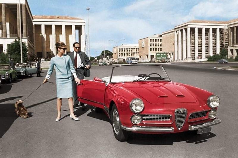 Piazza Guglielmo Marconi, Roma, 1960