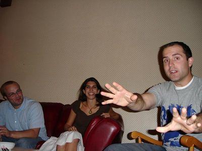 Potluck at Jon's 9/30/05