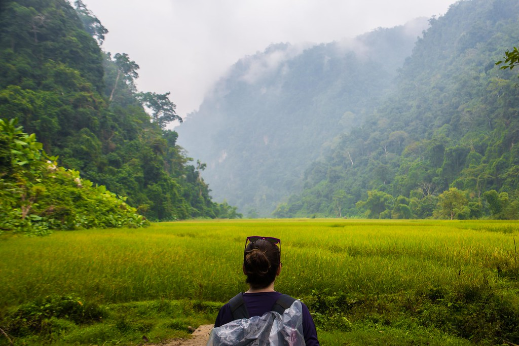 backpacking vietnam ba be national park