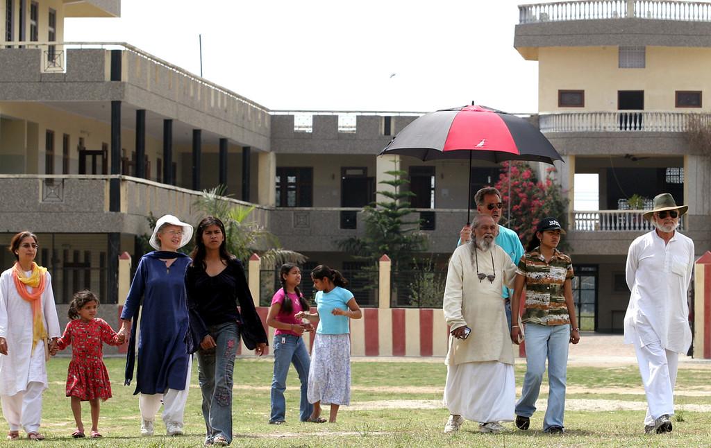 . Baba Hari Dass at Sri Ram Ashram in 2007. (Shmuel Thaler -- Santa Cruz Sentinel)