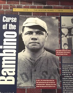 Boston was long criticized for trading Babe Ruth to the New York Yankees.