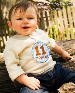William 11 Months