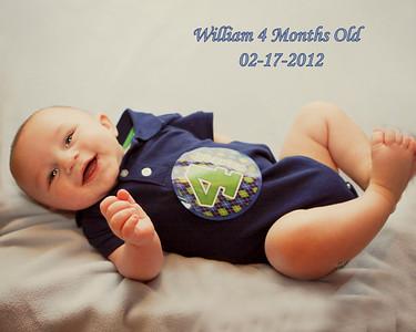 William 4 Months