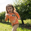 Running at the apple grove