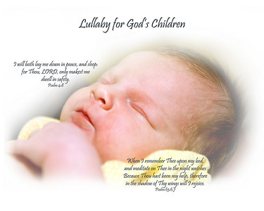 These two scriptures were given to me by the Lord along with a tune!  Lola's image inspired me to put the words on this photo.  What I re-discovered when looking at my Bible was that this little lullaby was given on 08/07/93:  fifteen years and a day before Lola arrived.  cool!