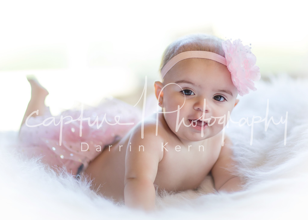 with her pink tutu