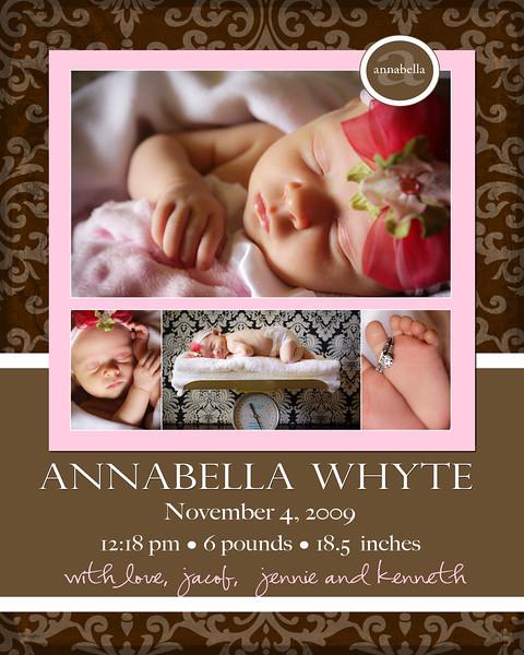 Annabella Announcement