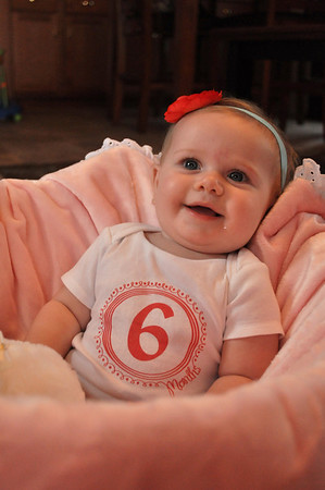 can you believe i'm six months old?  i can't either!!