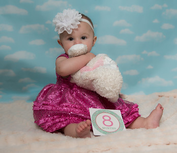 Ava 8th Month-2