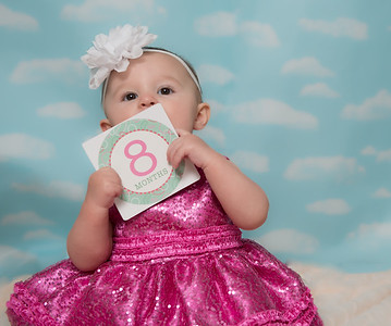 Ava 8th Month-4