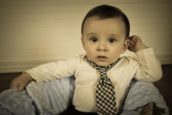 Evan Riddle (8 months) October 20, 2013