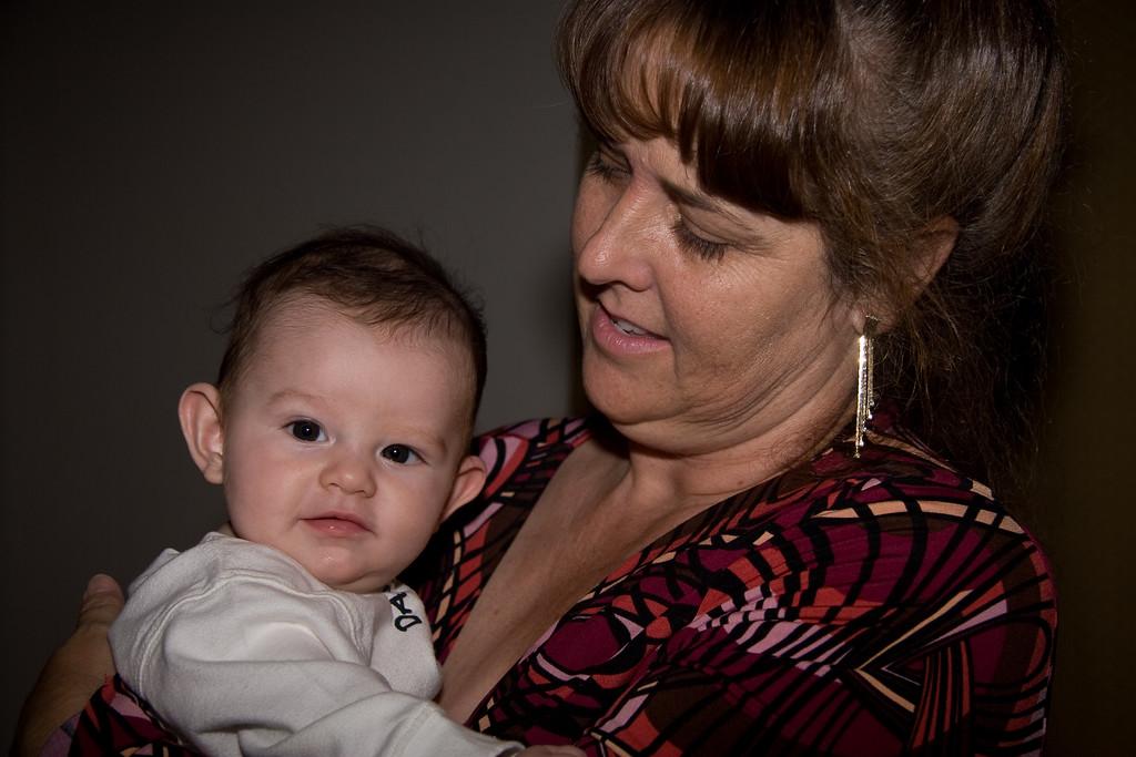 Jeffrey & Grandma Alison