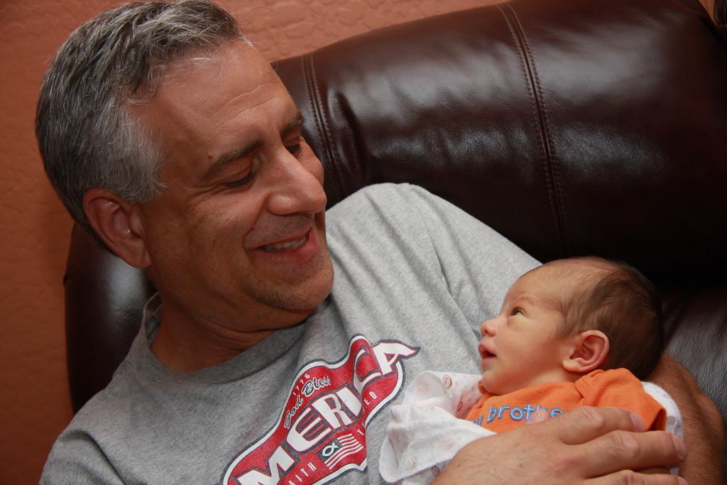 Jeffrey & Grandpa Jeffrey