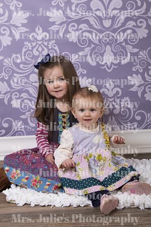Nolie Mae and Josie