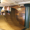Indoor skate park - for butts only.