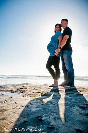 La Jolla Beach Maternity Belly & Family - SP