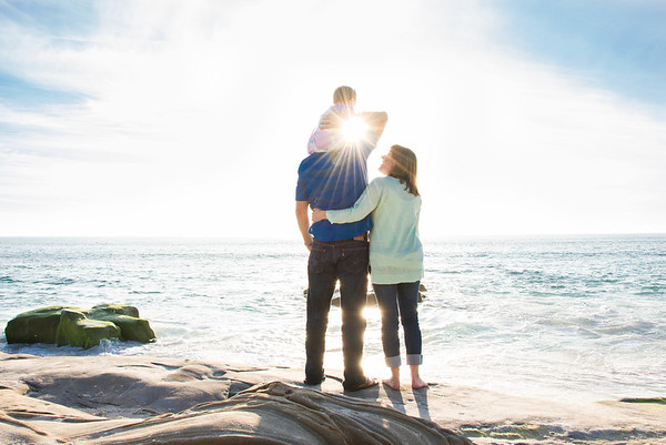 La Jolla Family Portraits - Windansea Beach RMC