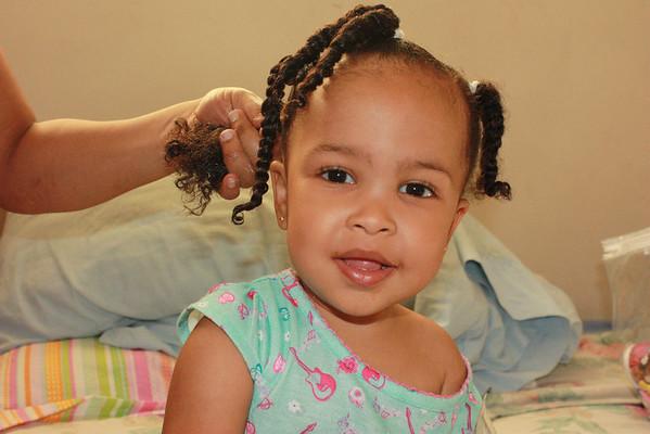 Miss Layton photo shoot age 1