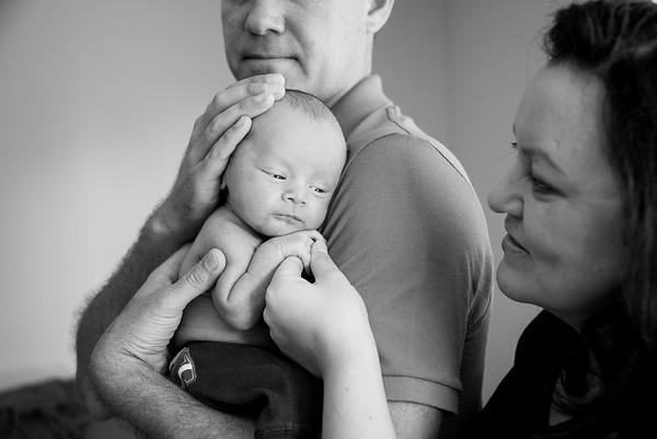San Diego Newborn Family Portraits 92037