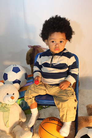 Sir Delonte Photoshoot age 1