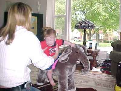 2004 Brendan on elephant toy 6-15-2004