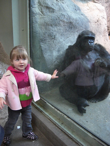 Ary and Syerra at the erie zoo