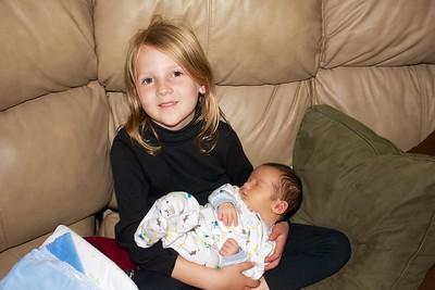 Baby James Oct Visit