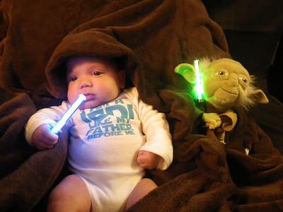 Baby Padawan Jedi Robert :O)