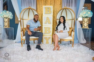 Danielle & Lance  baby shower